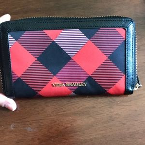 Vera Bradley checkered wallet